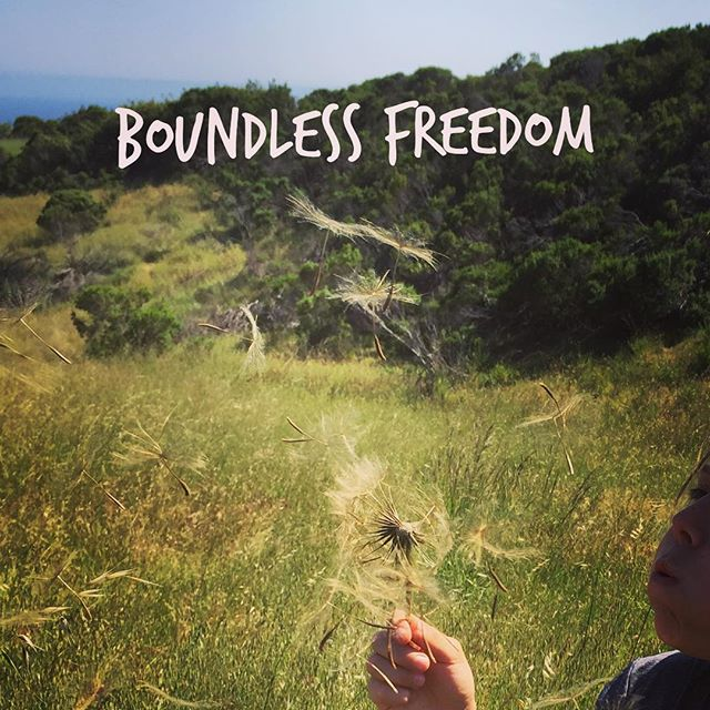 Boundless Freedom #nonduality #boundless #freedom #santacruz
