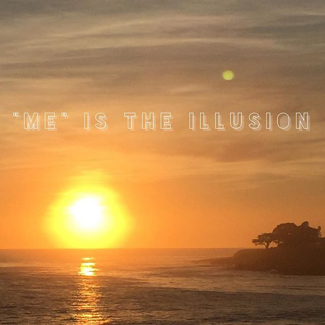 """""""I am"""" is the experience of separation. It is a wisp of smoke that never had any power to do anything.  When the sense of """"me"""" dies, or falls away, it is obvious (to no one) that it was never really there at all.  #nonduality #unknowing #illusion #santacruz"""