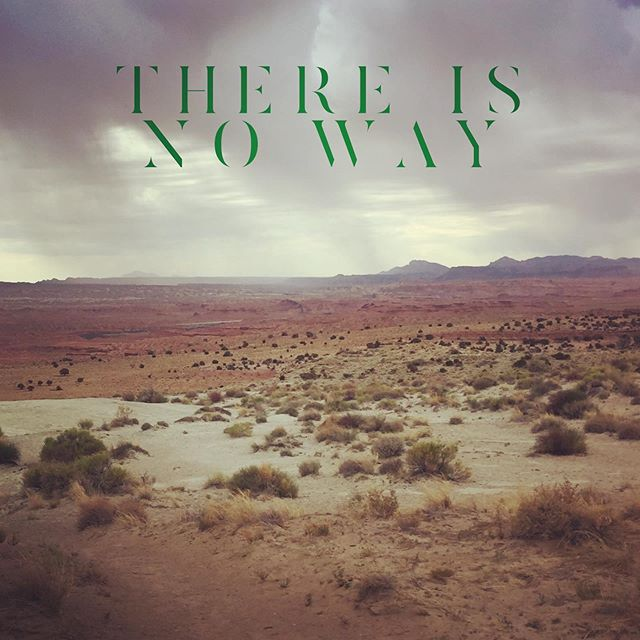 Nothing to find and no one to find it. No path. No gain. The seeker is illusory. #nonduality #radicalnonduality #duh #scrotum #desert