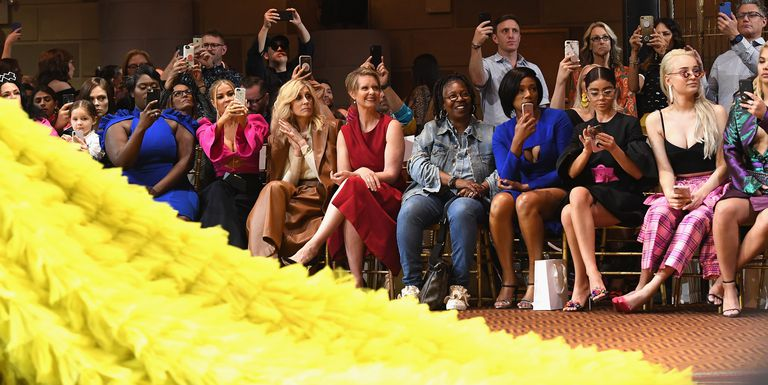 No One Threw a Shoe at the Christian Siriano Show and Honestly I'm Hurt - ELLE.COM