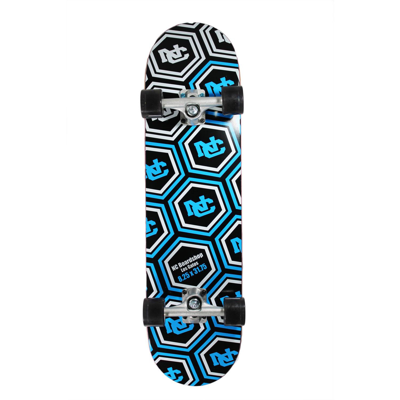 Gold//Blue//White ztuntz skateboards UC Berkeley Old School Skateboard Deck 8.50 x 32-Inch//14.5-Inch WB