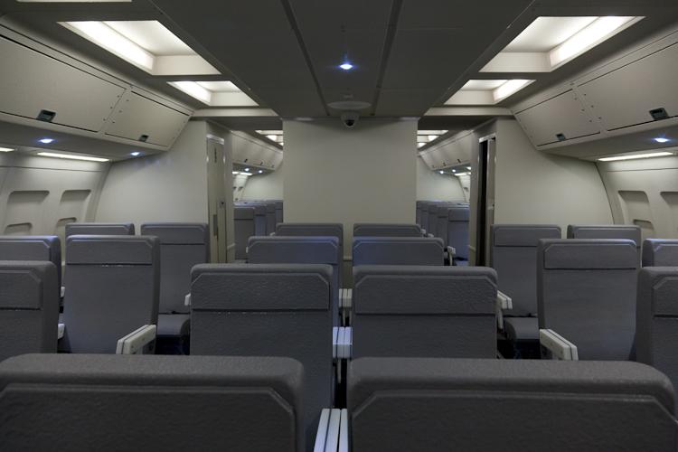 TSA/FAMS Aircraft Cabin Simulator