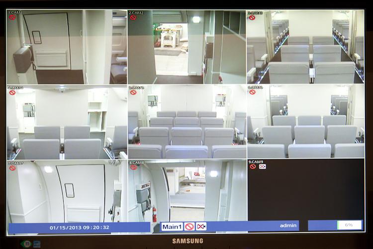 TSA/FAMS Aircraft Cabin Simulator IOS