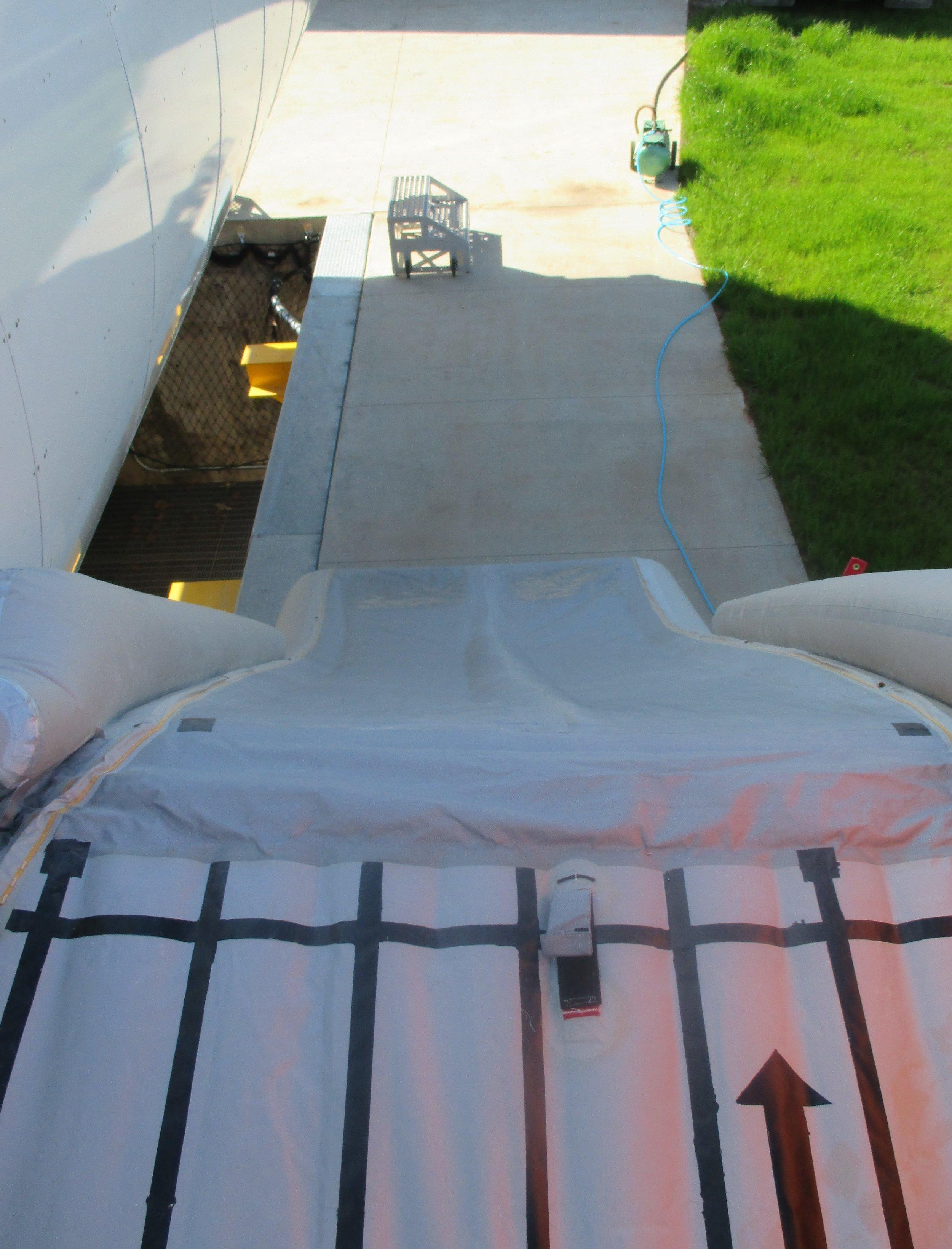 Wing Evacuation Training Slide