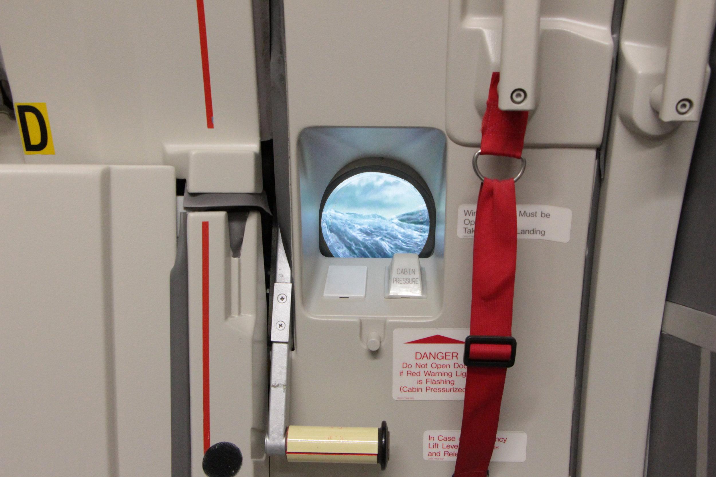 A320 Door Trainer Window Visual Simulation
