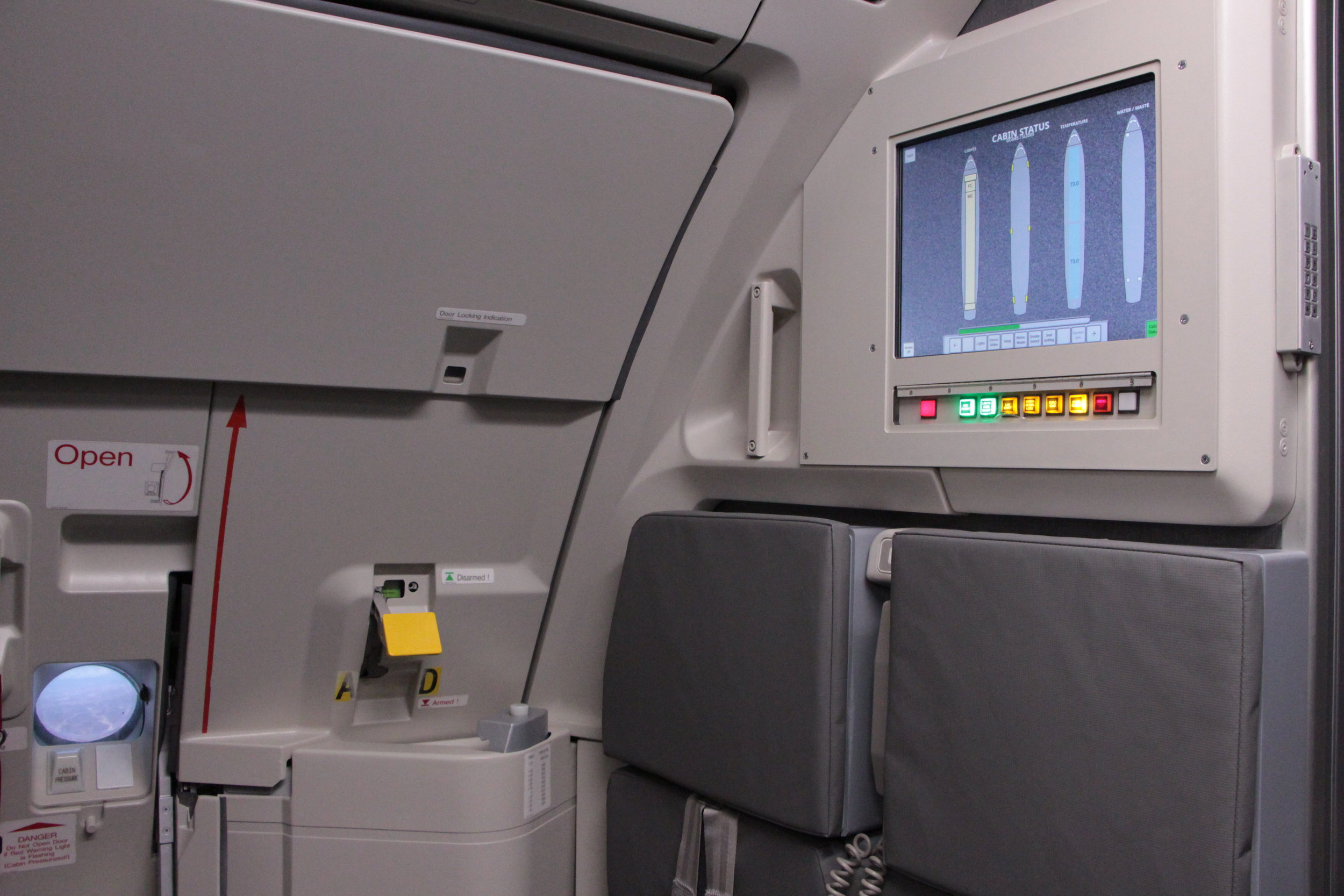 A320 Flight Attendant Station