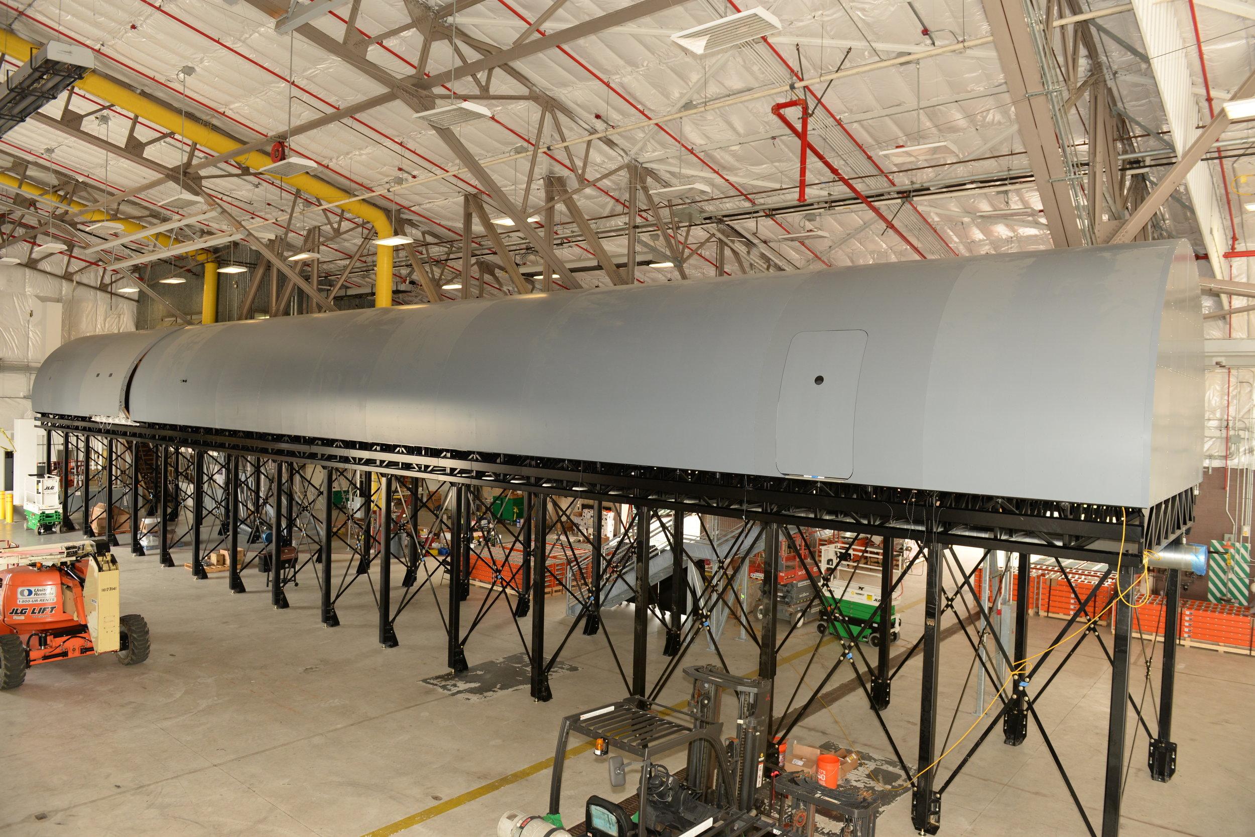 KC-46 Fuselage Trainer Exterior