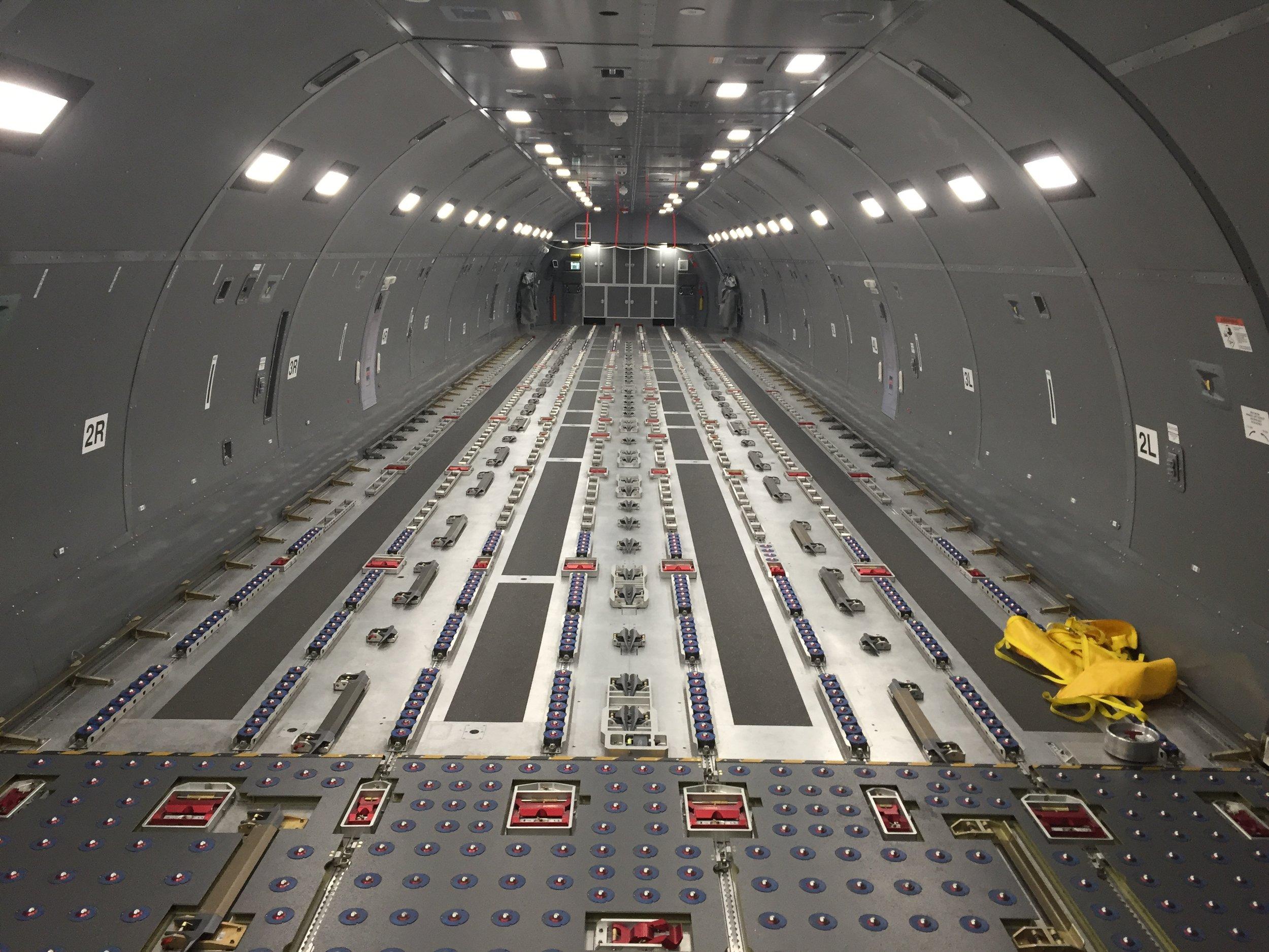 KC-46 Fuselage Trainer Interior