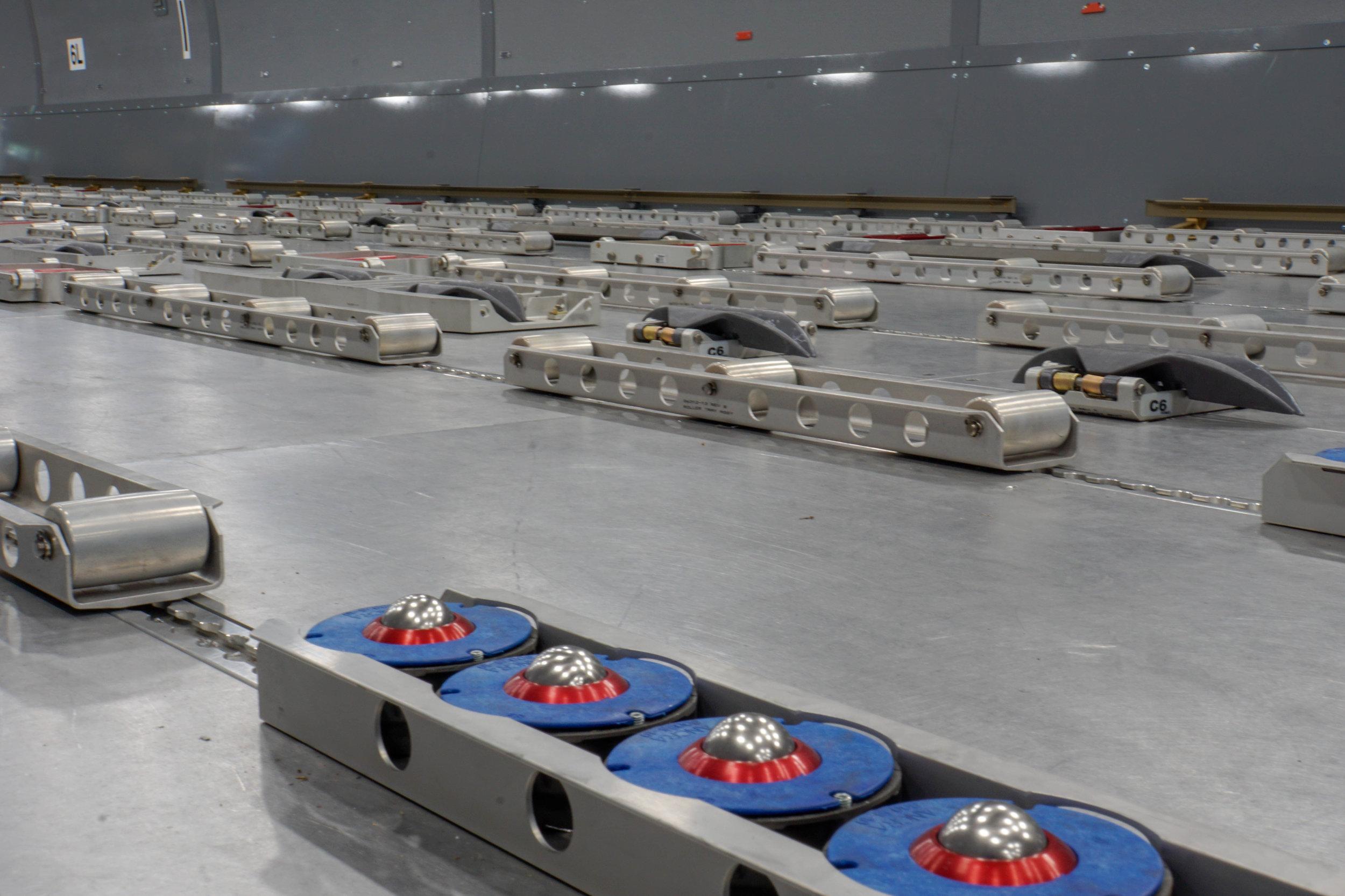 KC-46 Fuselage Trainer Cargo Handling System