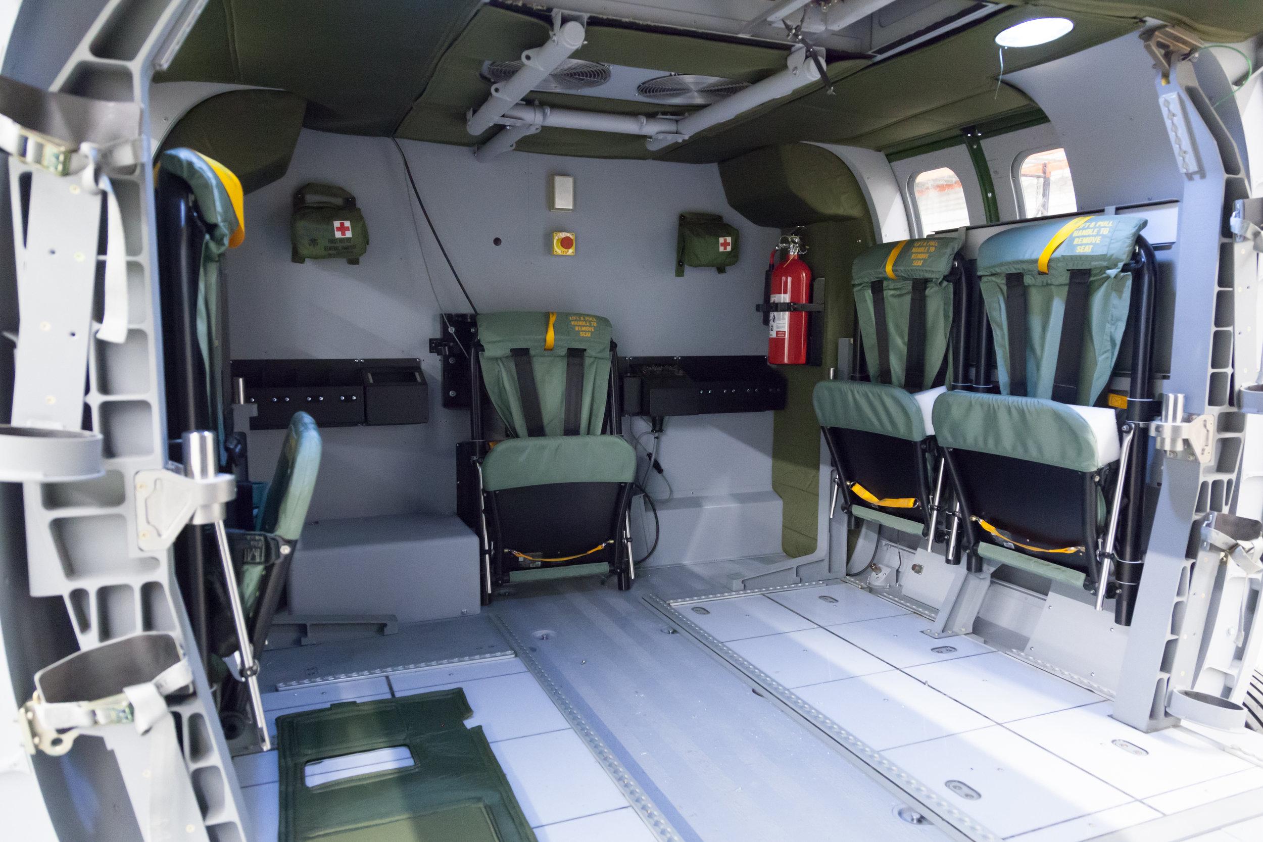 UH-60 TMTL Interior