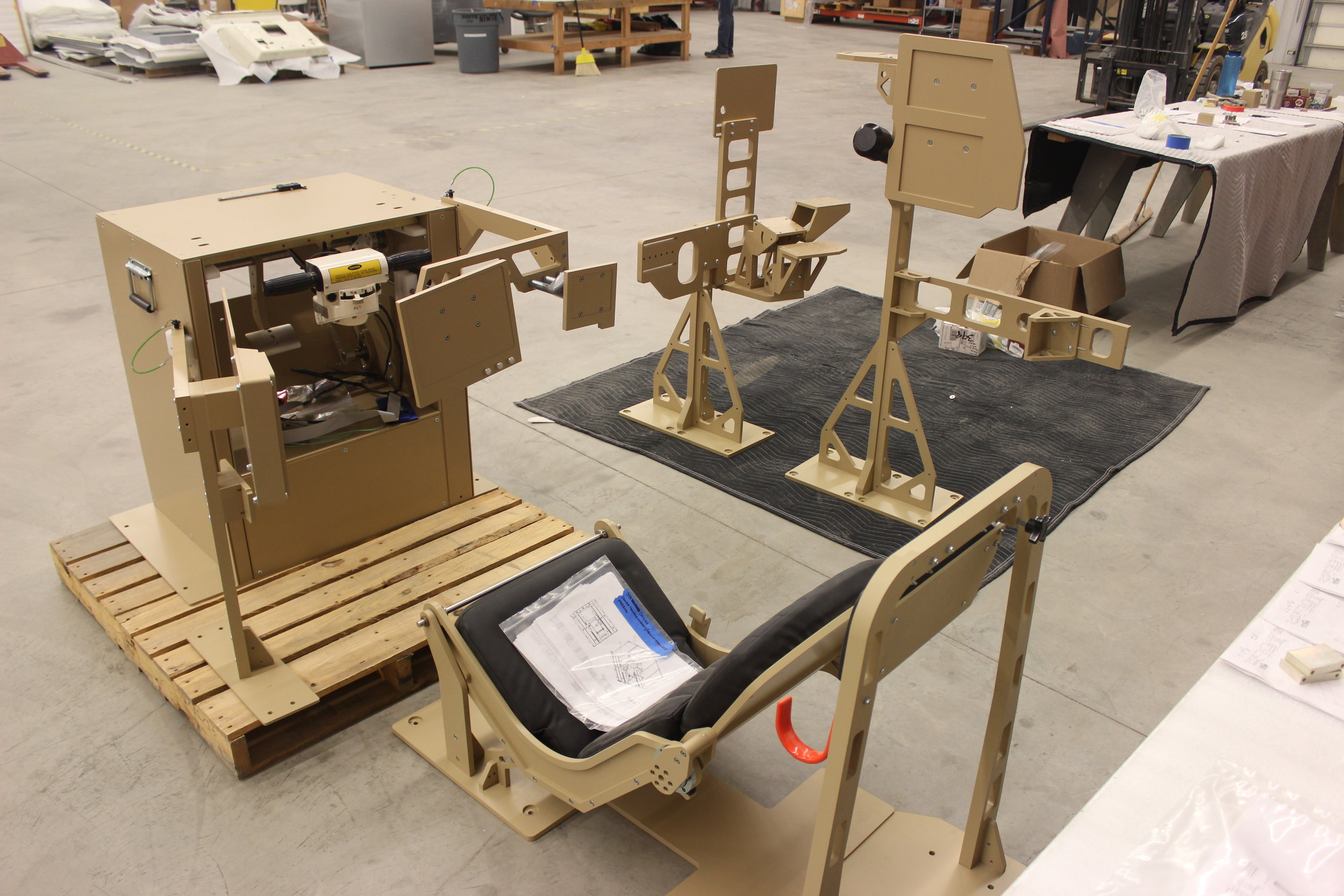 M1A1 Mixed Reality Tactical Trainer (MRTT) Under Construction