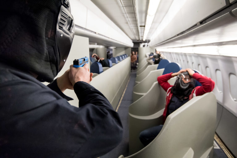 RCMP Agents Train With Newton Design Seating