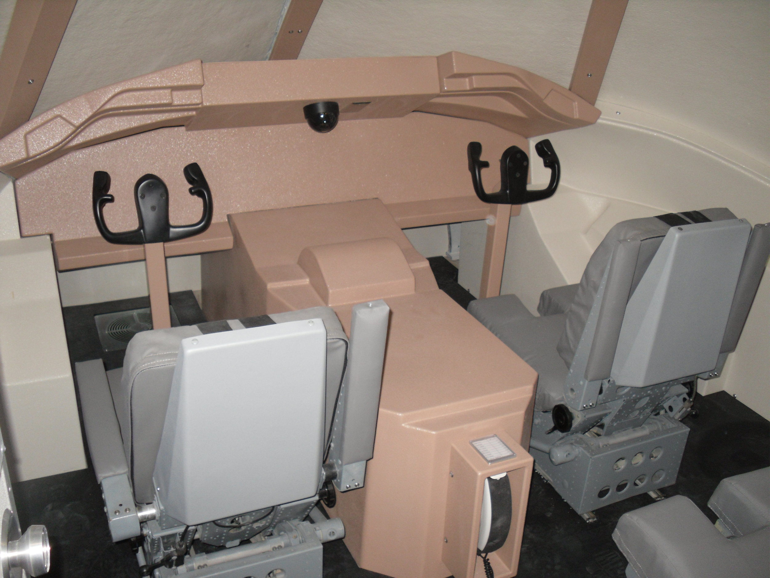 Flight Deck Security Training Simulator