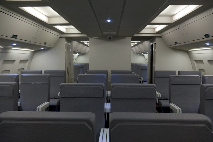 Multiple Cabin Classes (Business and Economy)