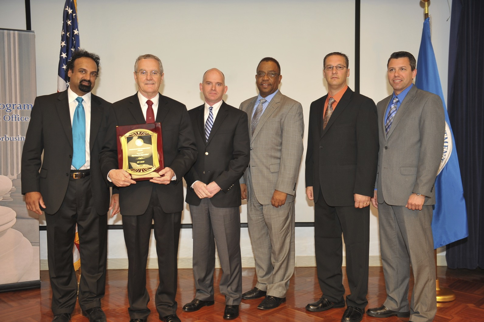 US Department of Homeland Security Small Business Award Recipient