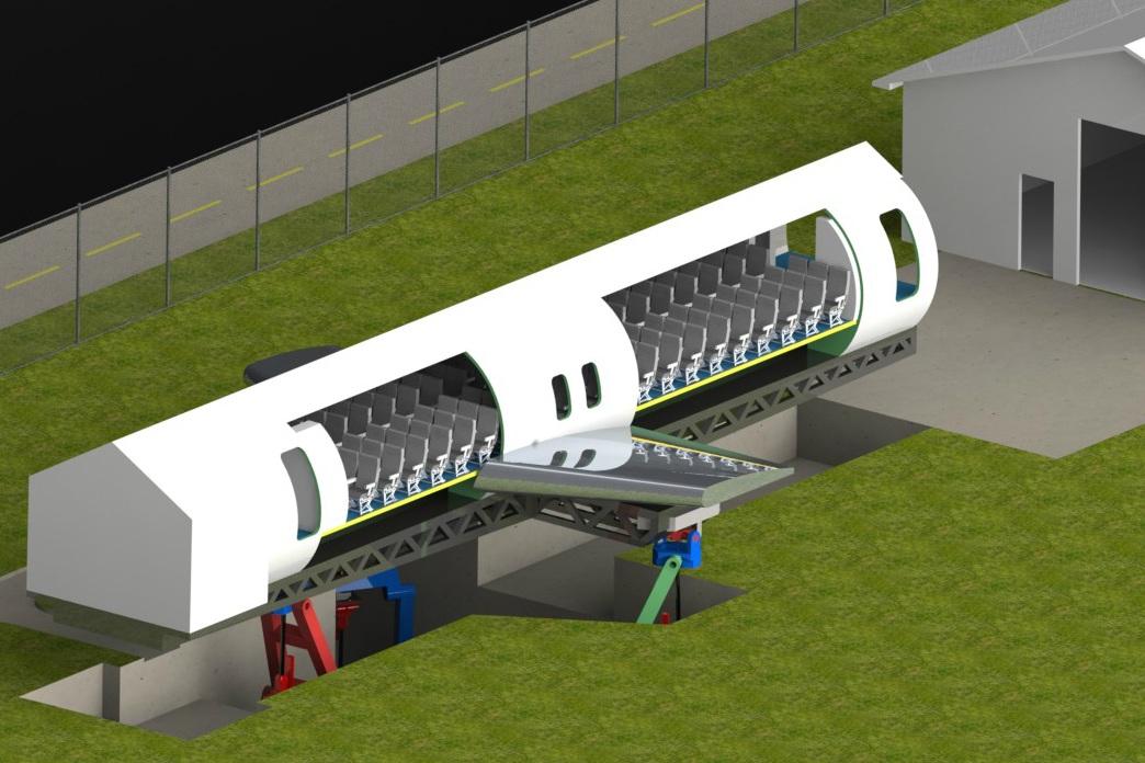 FAA FlexSim Initial Design Concept