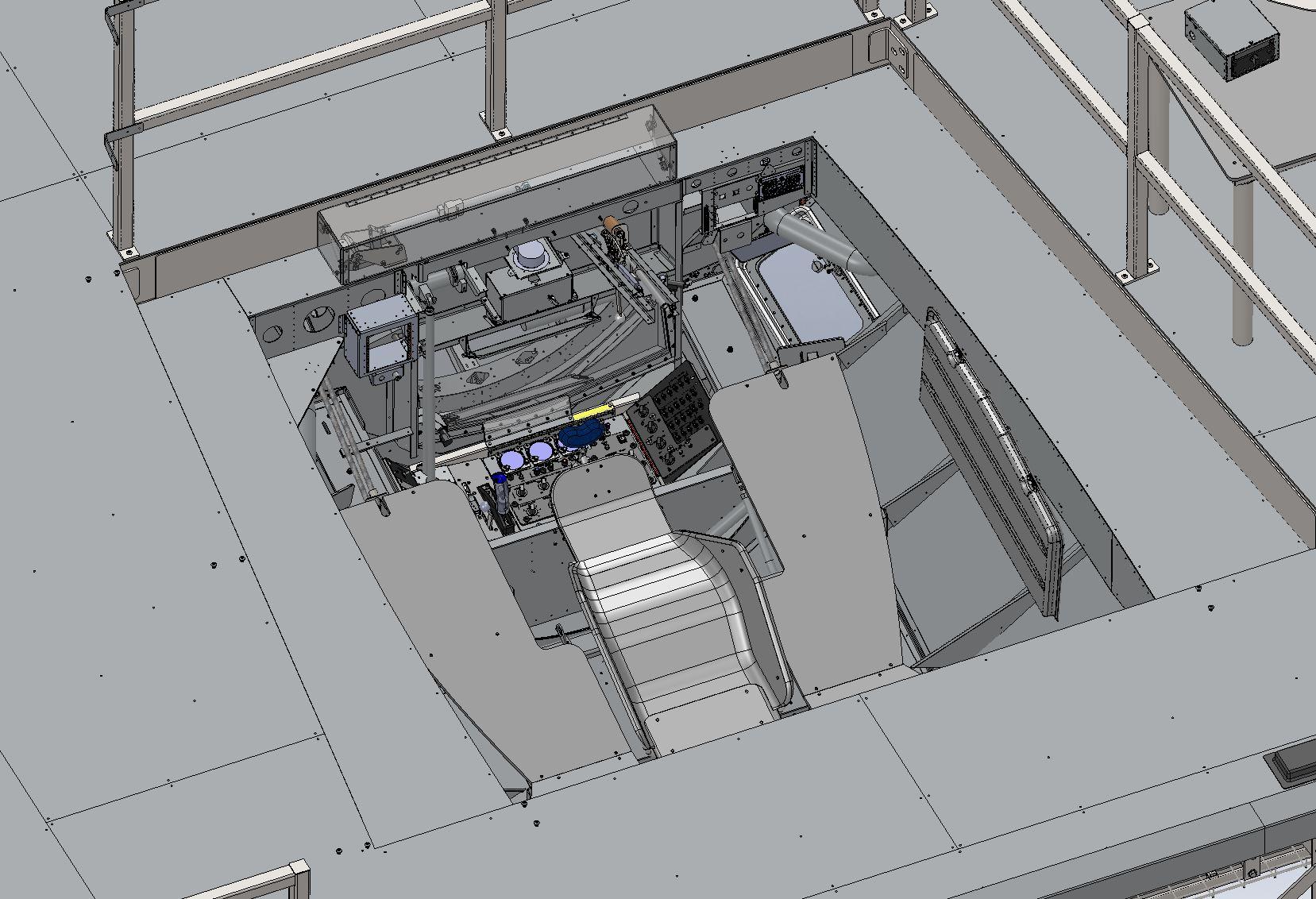 KC-135 BOWST Boom Operator Pod Design
