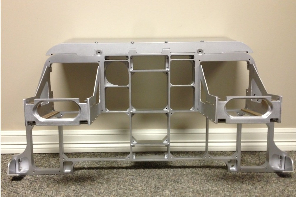 A-10 Simulator Instrument Chassis