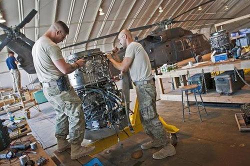 UH-60 Maintenance