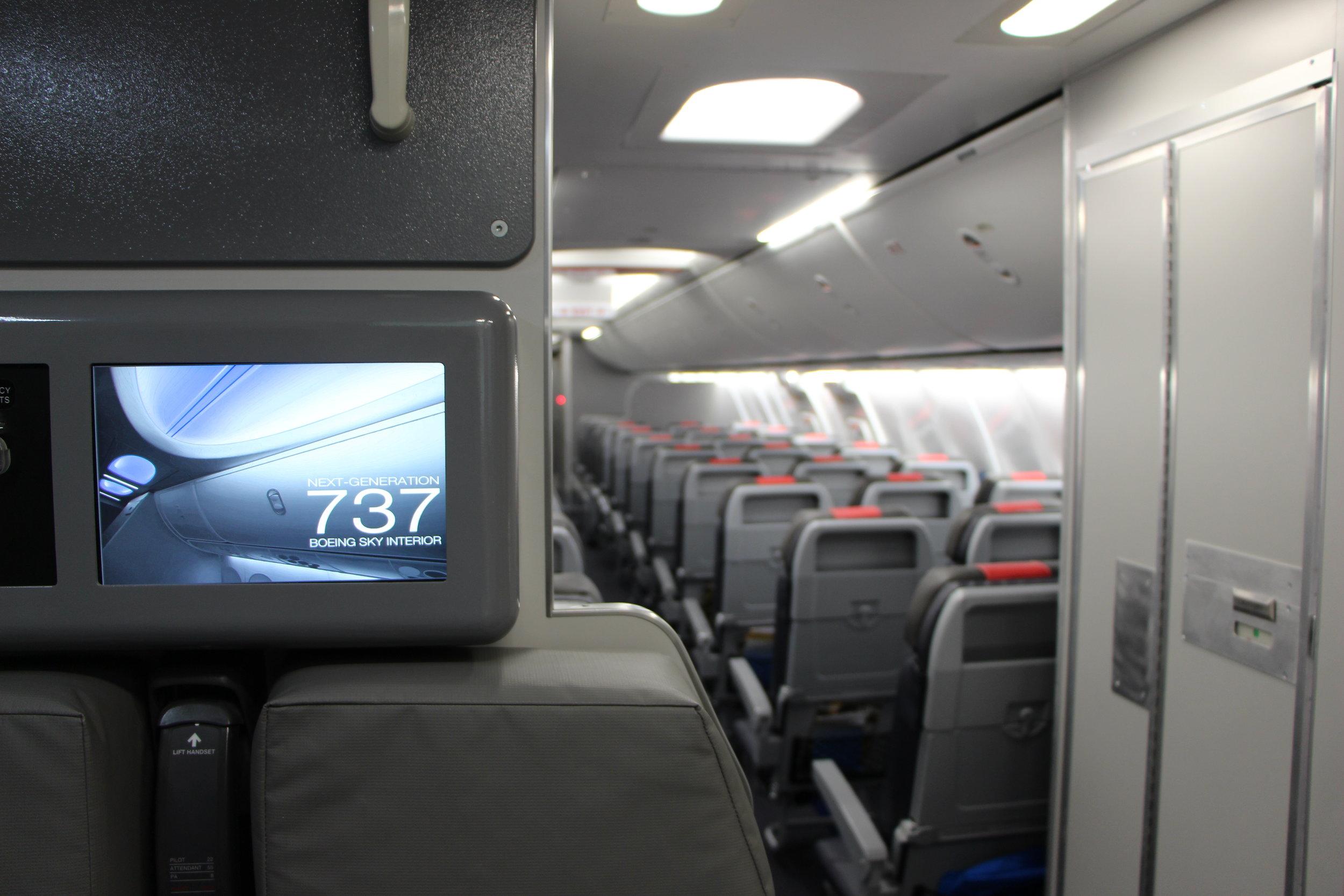 B-737 CST Aft Attendant Panel