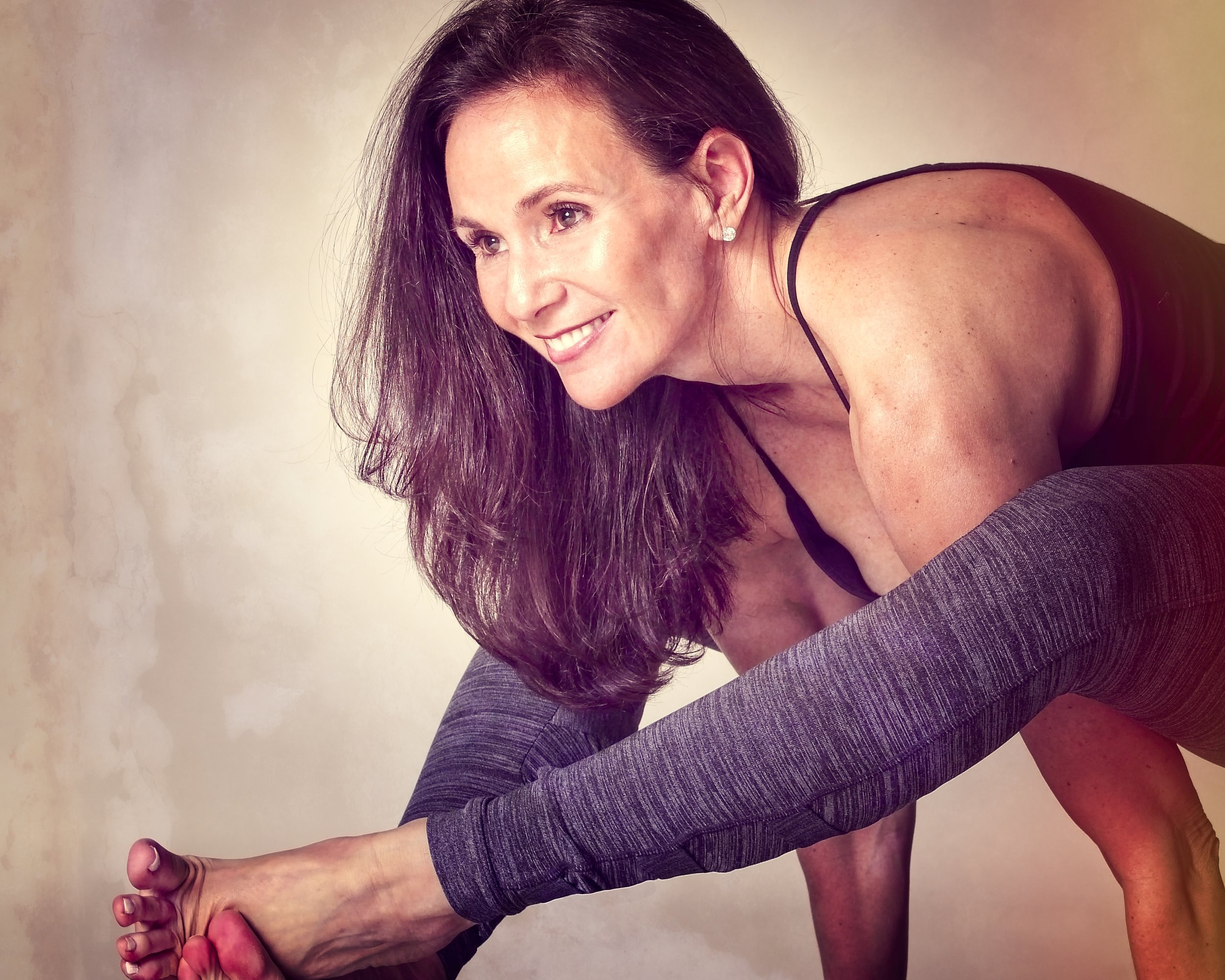 Gina Roden - Gina's methodical classes provides clear and concise instruction, no matter the level of yogi. She will walk you thru every state of the posture, providing a flow in the peaceful, present moment. You will leave her class both, physically and spiritually satisfied.