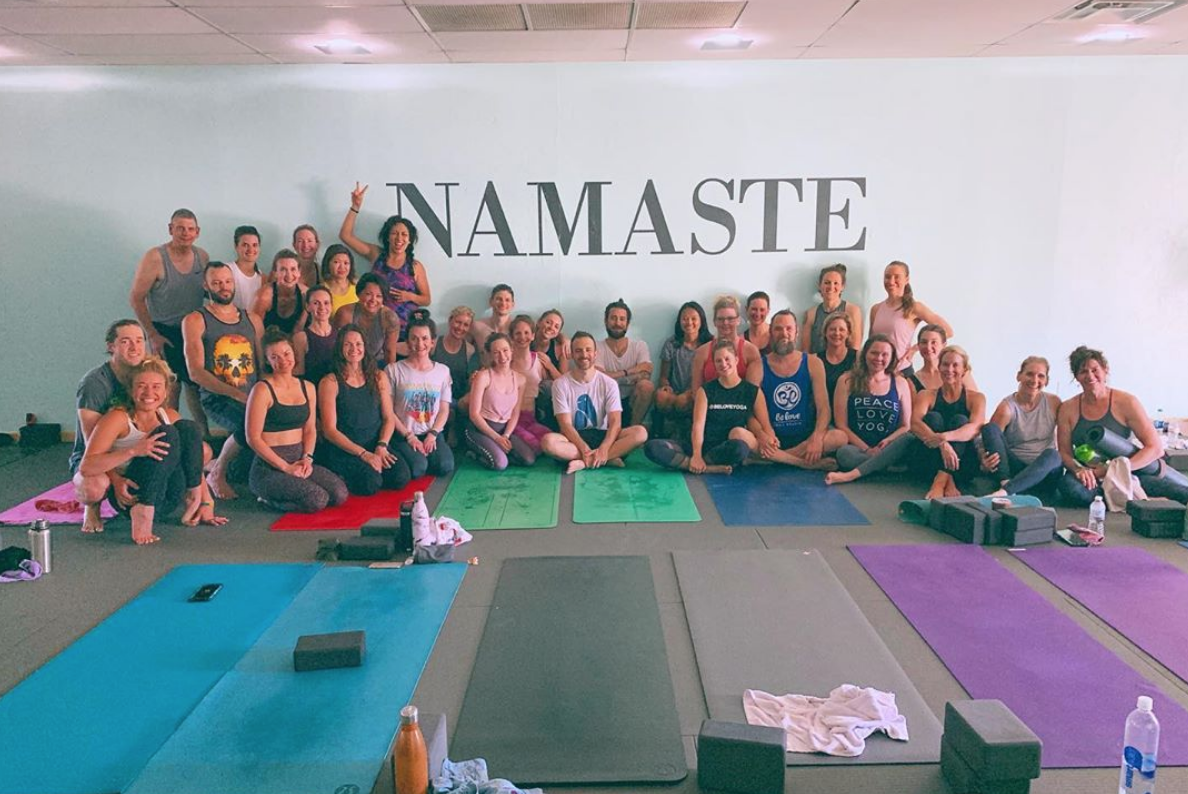 patrick beach visits yat for a 2-day workshop, focused on  awakening and strengthening.