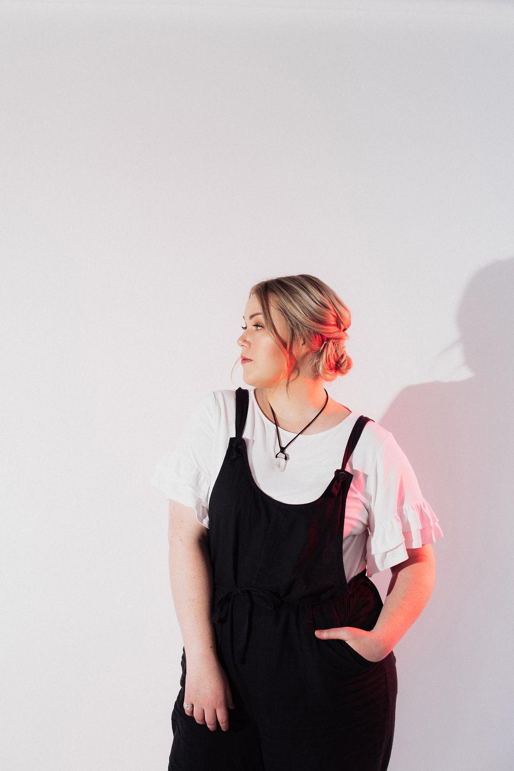 Photographer: Eden Strader  Model: Kristi Alyse  Hair & Makeup: Abigail Hill