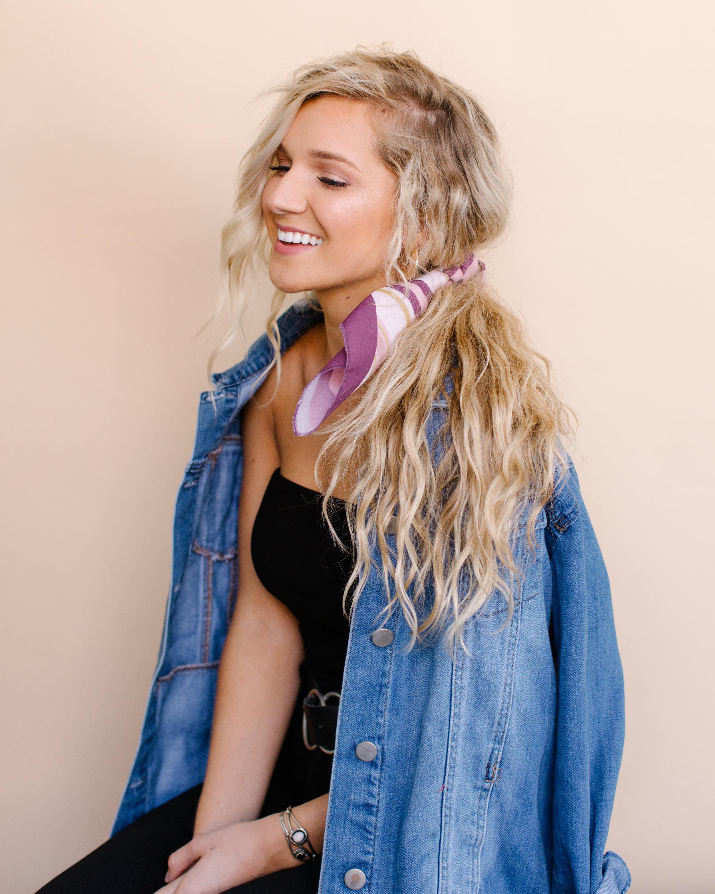 Tossd  Photographer: Hunter Fowler  Model: Virginia Hunsaker  Hair, Makeup, Wardrobe: Abigail Hill