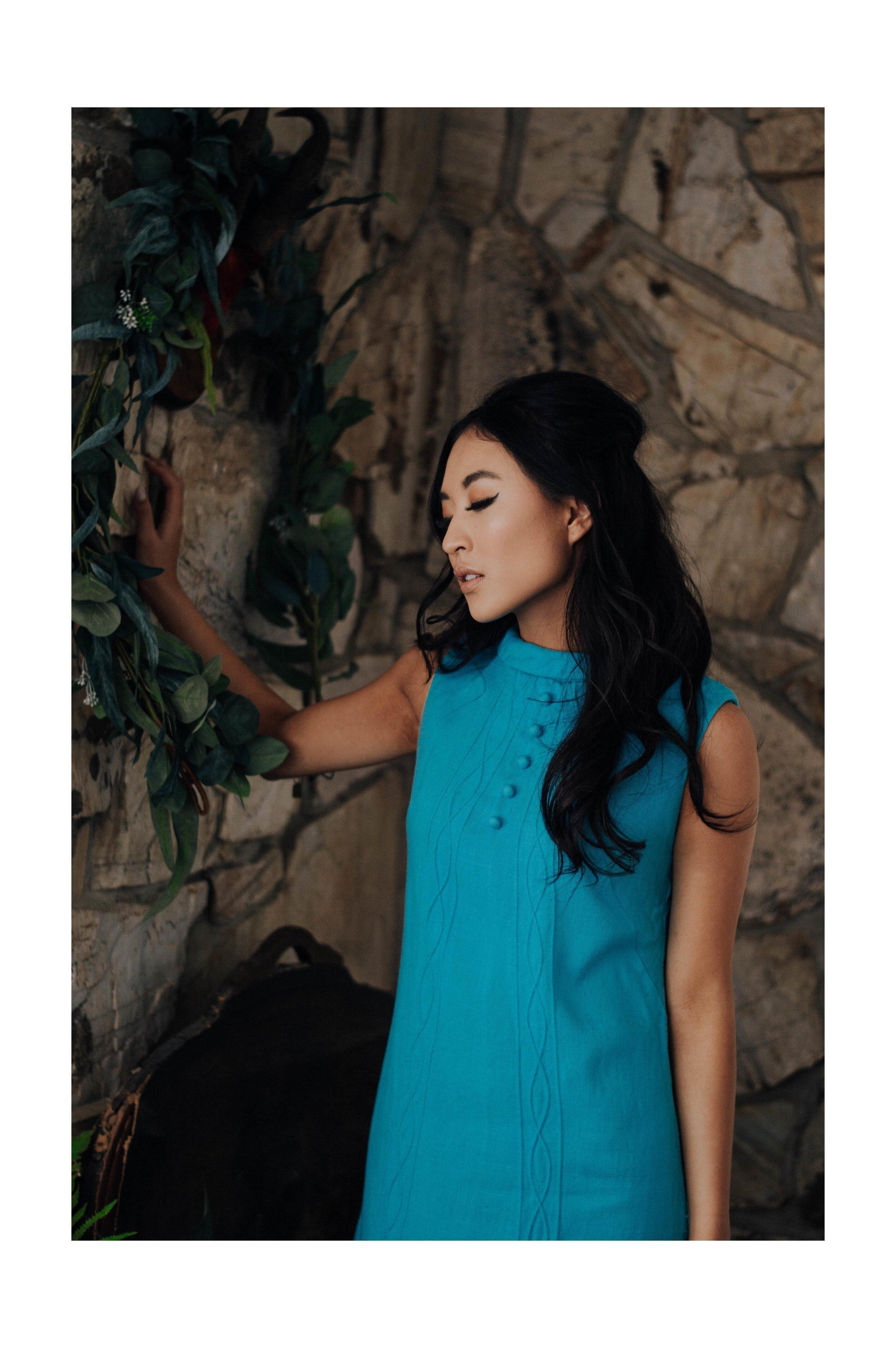 Maeberry Vintage  Photography: Mckenzie Lockwood  Model: Jiajing Yi  Hair & Makeup: Abigail Hill