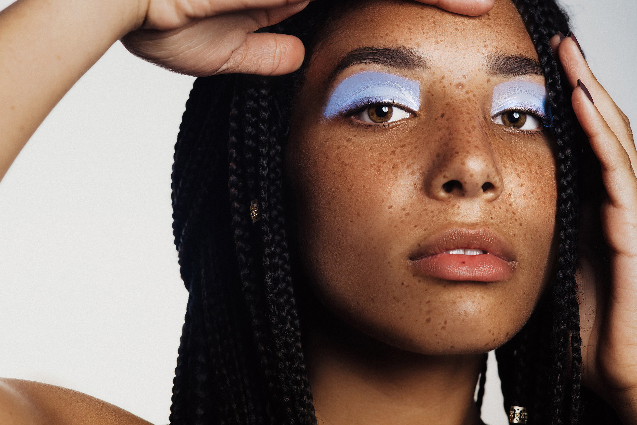 Color Block  Photographer: Eden Strader  Model: Aubree Clark  Makeup Artist: Abigail Hill