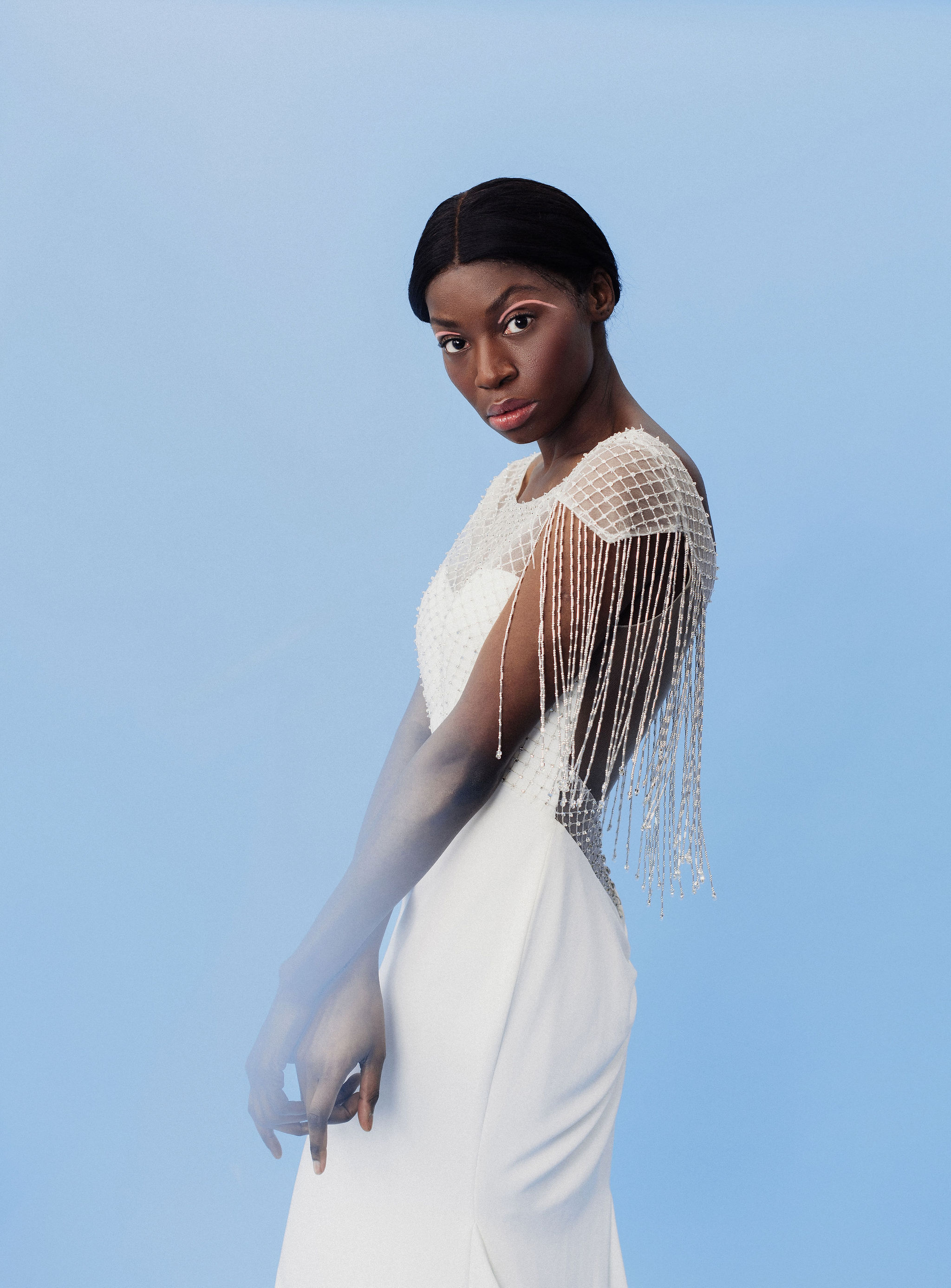Maggie Sottero Designs  Photographer: Eden Strader  Model: Moe M.  Makeup Artist: Abigail Hill