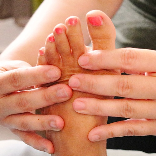 Foot Therapy - 30min $50This massage focuses on the feet and applies pressure to distinct