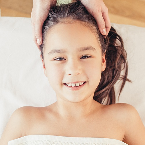 Kids Massage - 20min $45This Swedish style massage gives kids an introduction to a massage. The massage can be focused on specific areas or can be general to promote relaxation, No deep pressure will be used and this service is not for any medical related issues.Underwear must be worn.
