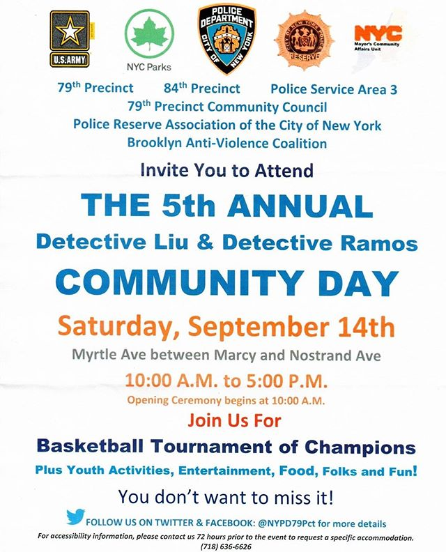 Upcoming Events in and near Brooklyn Community District 2; September 14, 16&18, 2019. Swipe left to see!! . . . #brooklyn  #brooklyncommunity  #thedbna #basketballtournament  #nyctransit #nycimmigrant