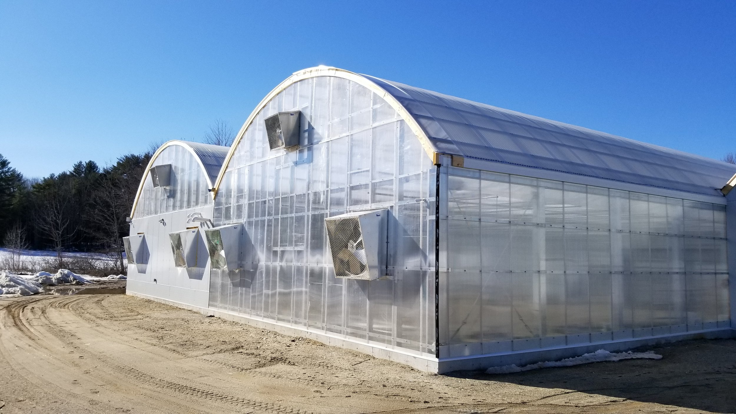 ArchSolar Hybrid Greenhouse Structures