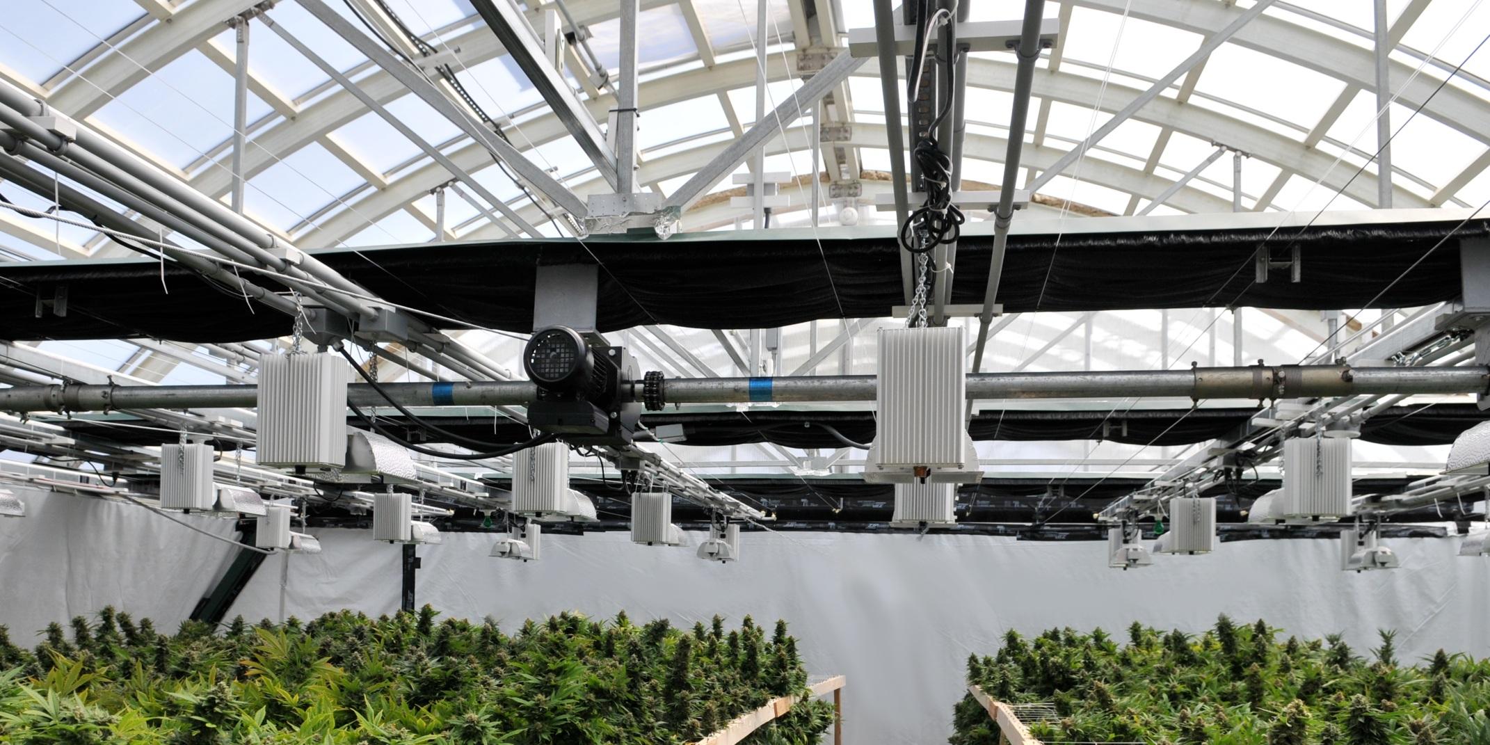 ArchSolar Light Deprivation Greenhouse