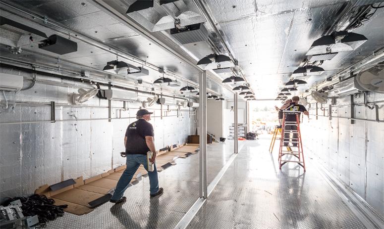 ArchSolar Grow Room Installation