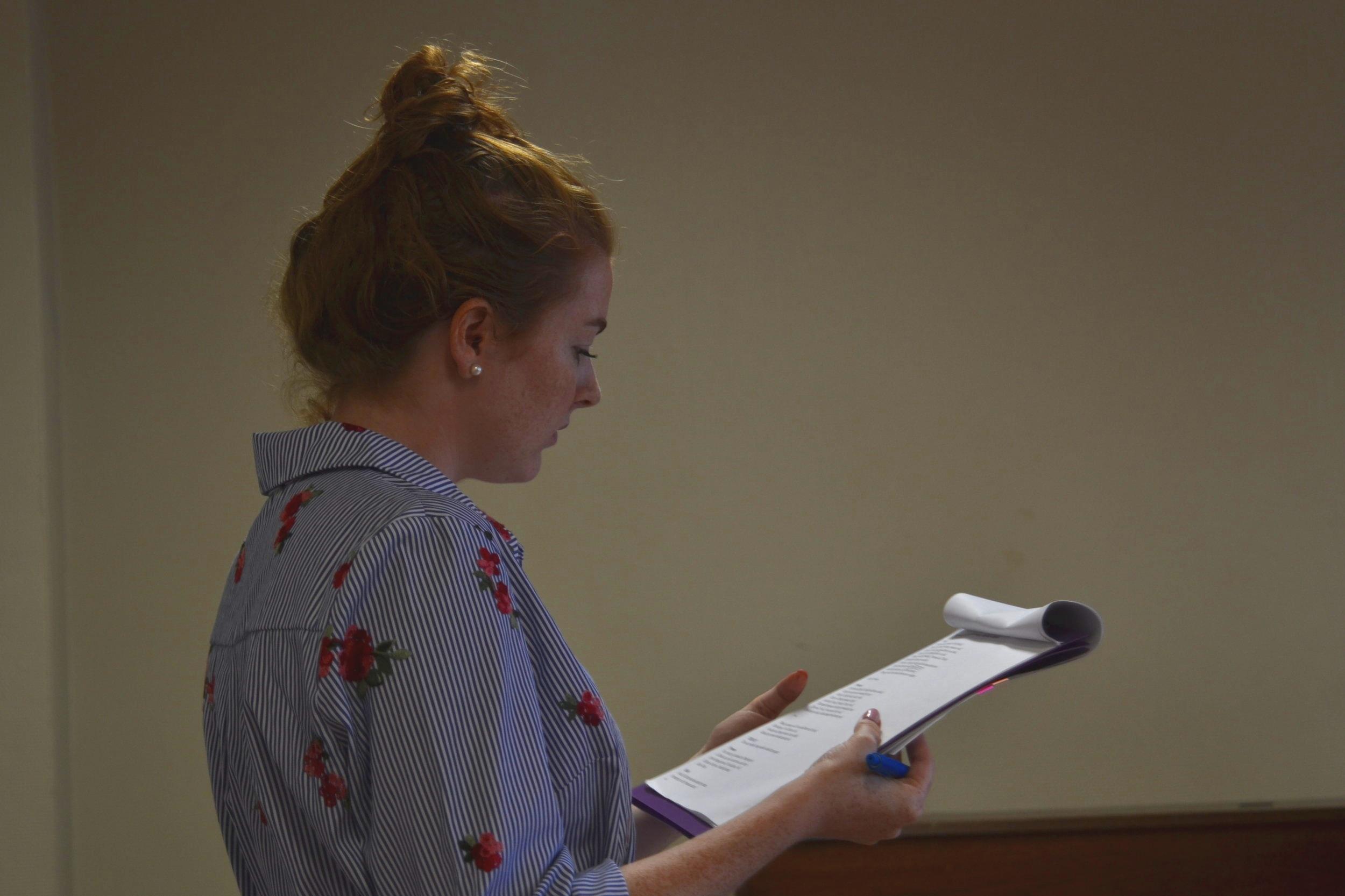 Taylor Scott, director of A Midsummer Night's dream
