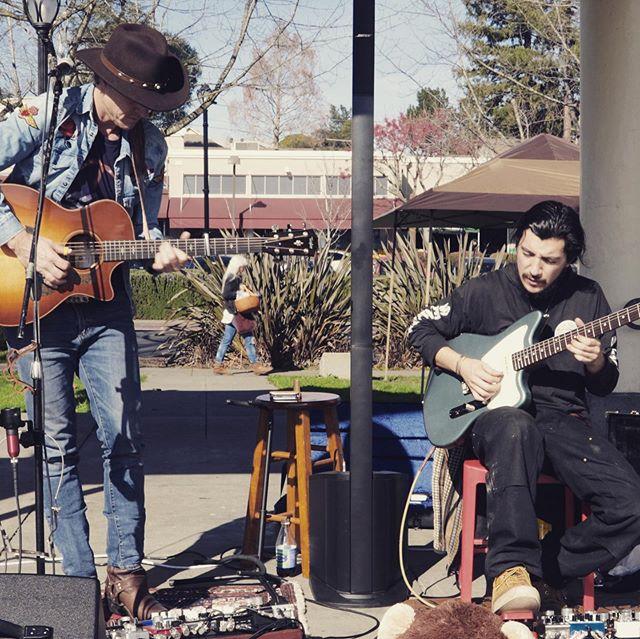 Josh Woodlander & Miles Kimock Sebastopol Town Square