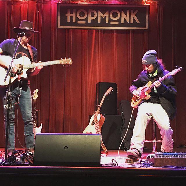 Josh Woodlander & Miles Kimock live at HopMonk in Sebastopol, CA
