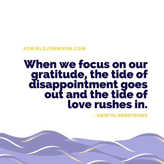 Practice gratitude - let love rush in! • • • • • • • •  #MentalHealthAwareness #CounselingWorks #SelfCare #GoodTherapy #ATL #Atlanta #TherapistLife #AdrielJohnsonCounseling #Counselor #Mindfulness #TherapyForBlackGirls #DecaturGA #Stress #StressManagement #Therapy #Help #MentalHealth #HealthyLiving #MindBodySpirit #JustBreathe #ChangeYourLife #tuesday #tuesdaymotivation #tuesdayquotes