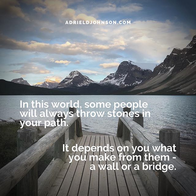 Build bridges not walls. • • • • • •  #MentalHealthMonday #MondayMotivation #MondayMood #MondayMantra #MentalHealthAwareness #CounselingWorks #SelfCare #GoodTherapy #ATL #Atlanta #TherapistLife #AdrielJohnsonCounseling #Counselor #Mindfulness #TherapyForBlackGirls #DecaturGA #Stress #StressManagement #Therapy #Help #MentalHealth #HealthyLiving #MindBodySpirit #JustBreathe #ChangeYourLife #bridge #bridges #buildbridgesnotwalls
