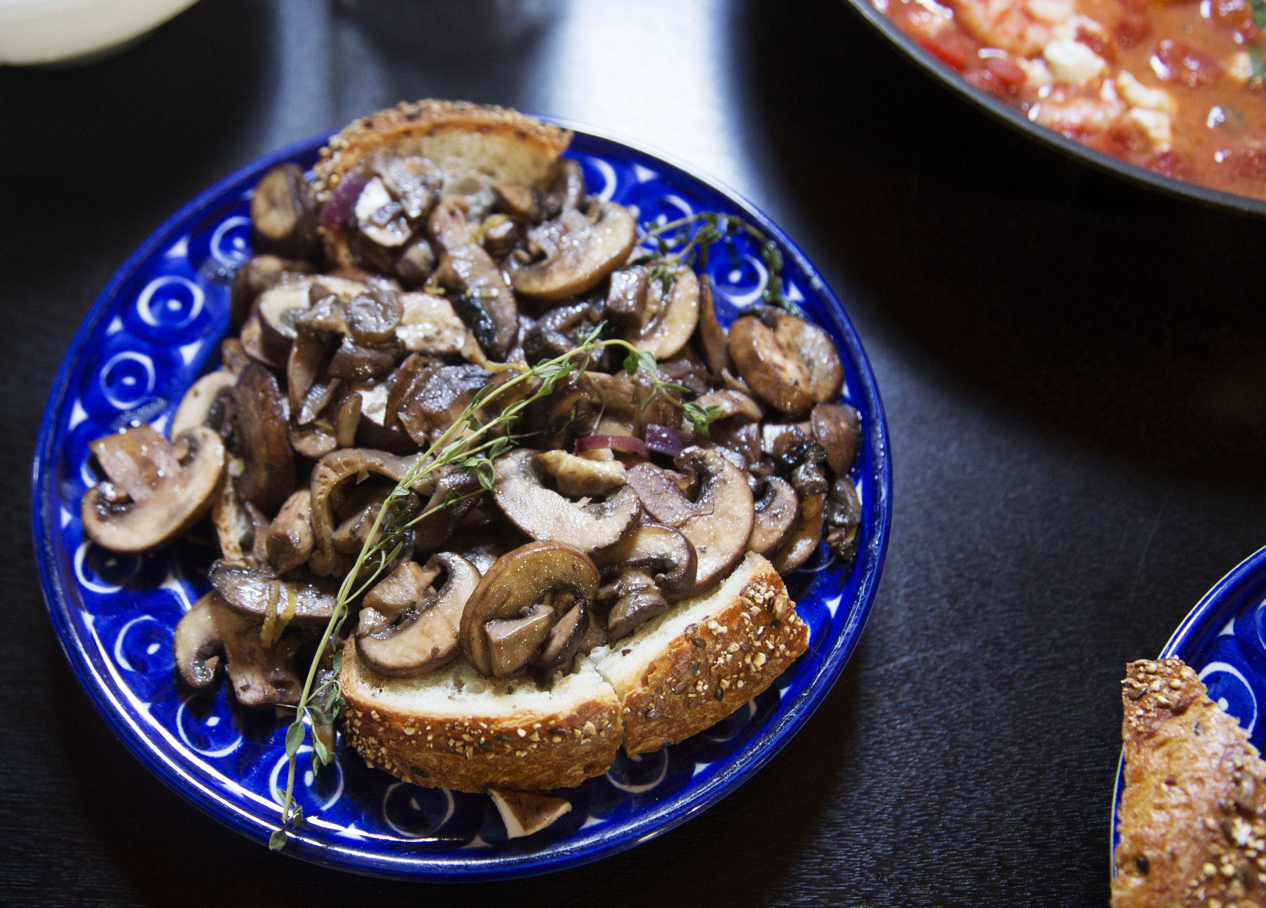 wildflowers and fresh food mushrooms copy.jpg