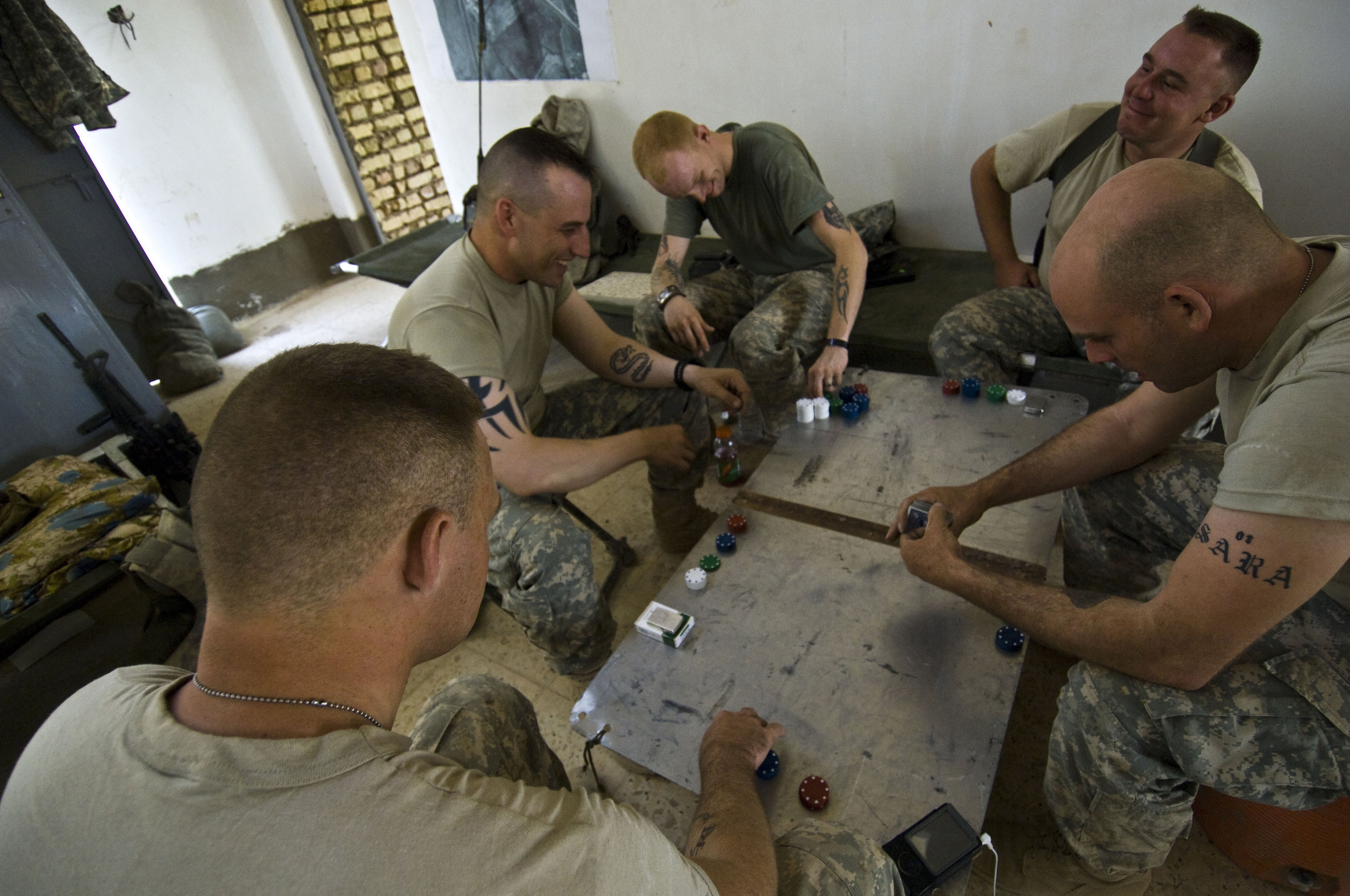 Can Poker Treat PTSD?