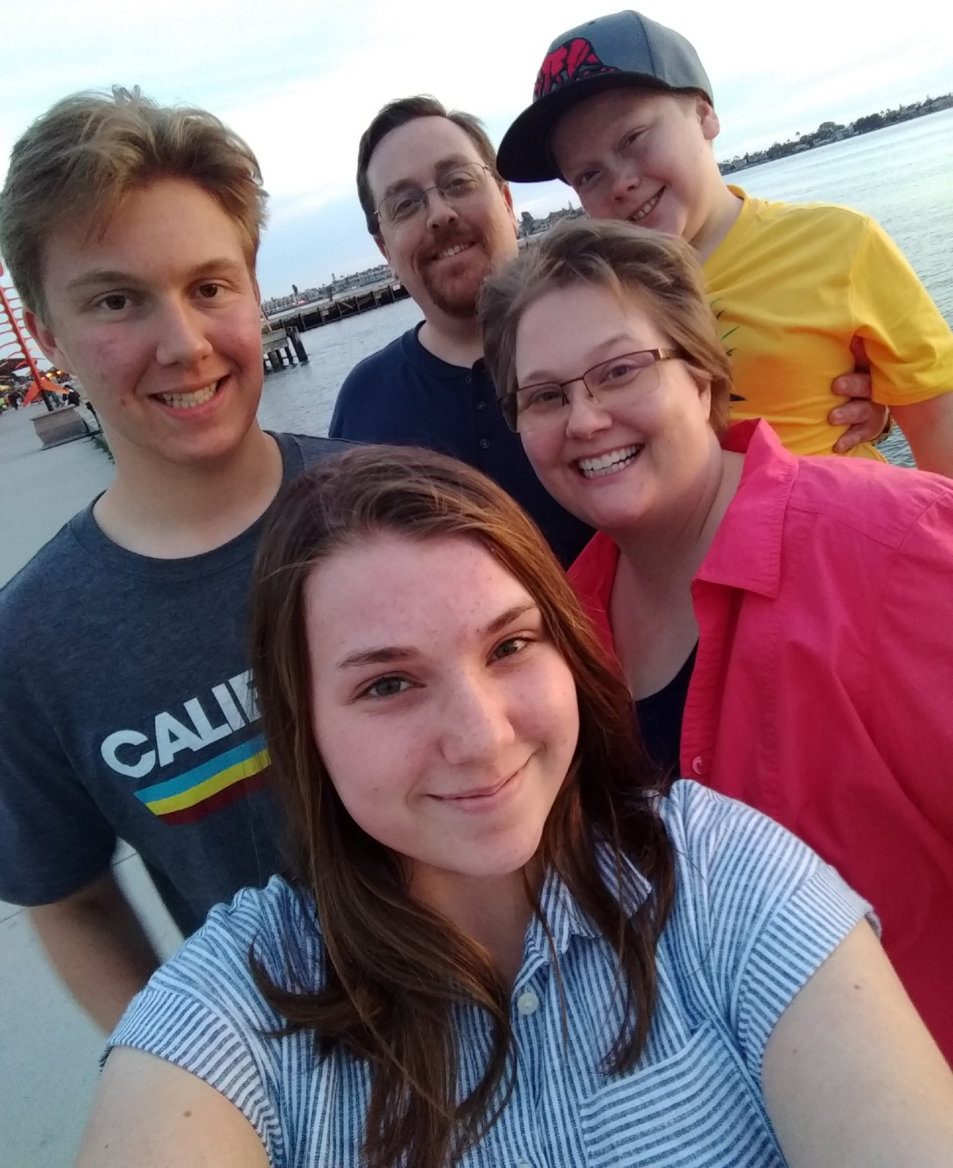 My wife, Jana, sons, LJ (left) and Evan (right), and daughter, Ryanne.