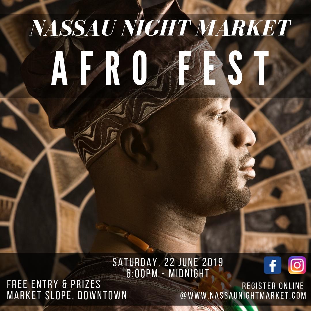 Afro Fest Man Flyer