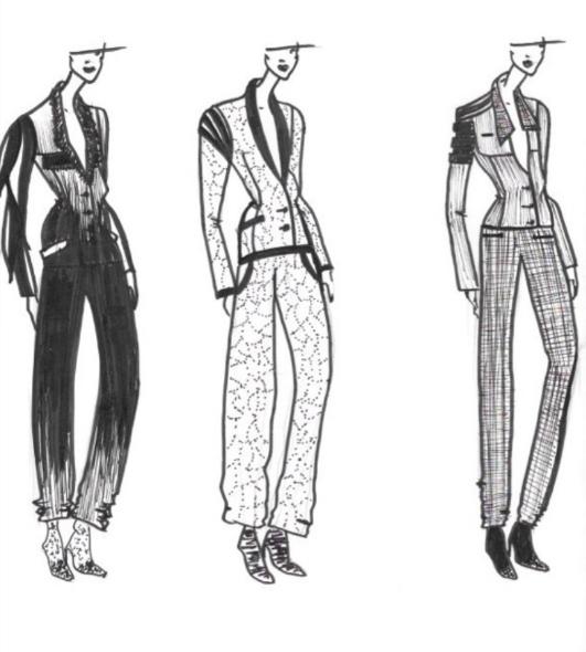 Figurine de mode - 2016
