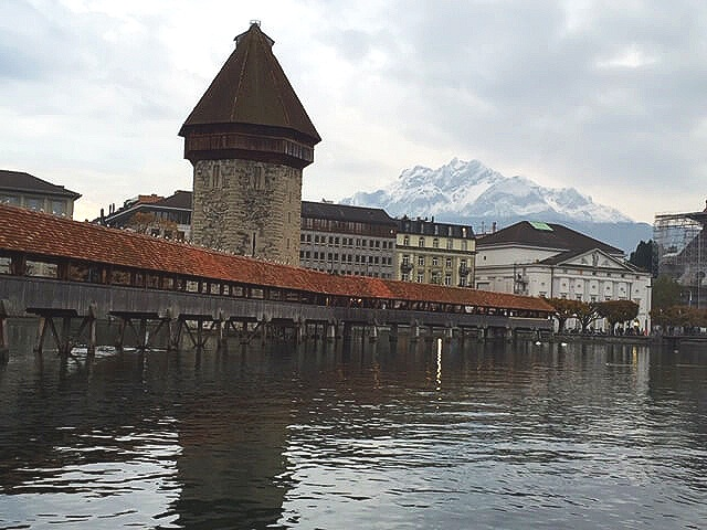 Lucerne - The famous Chapel Bridge takes us back to a different time in history as we search for more unique antique jewelry in Lucerne, Switzerland.