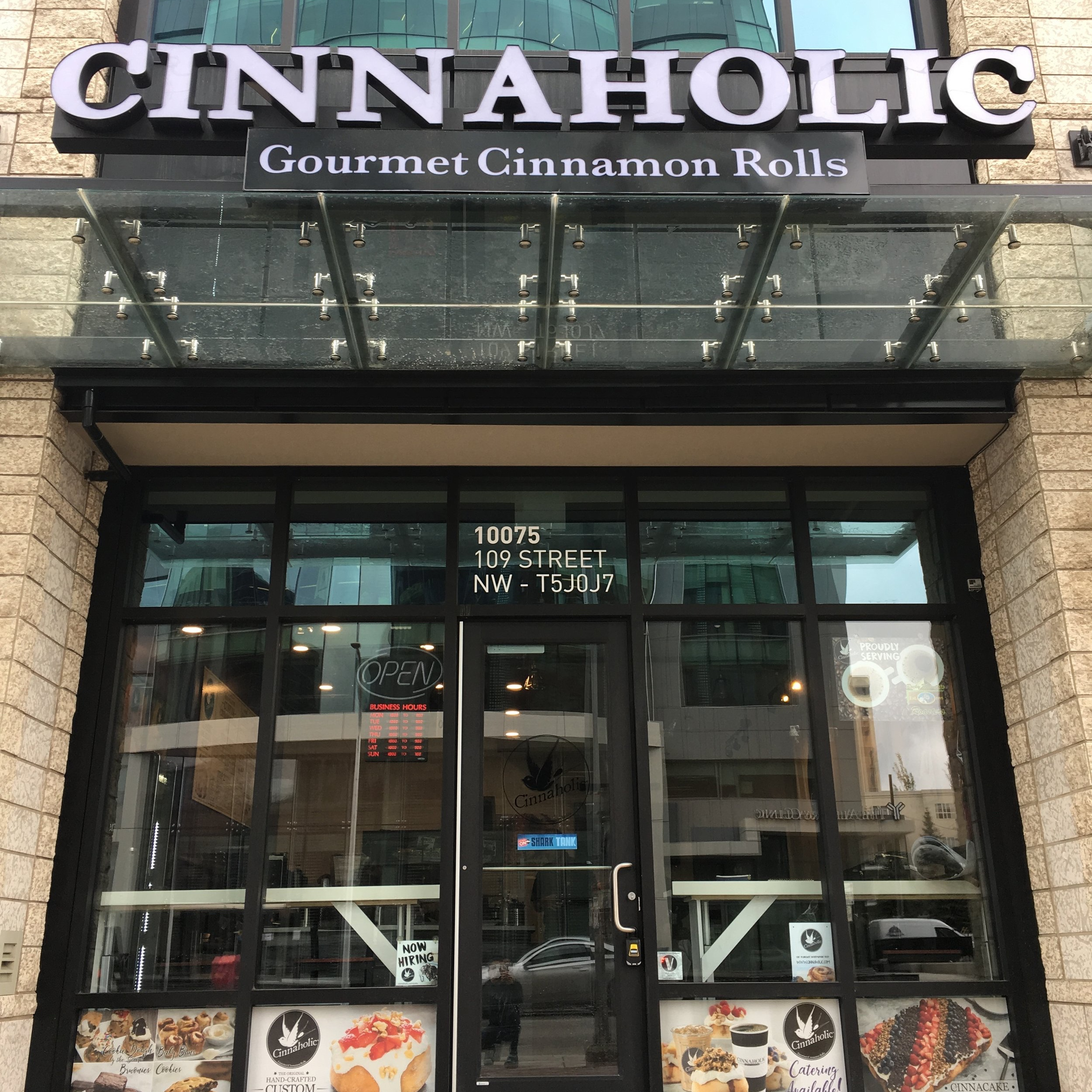 Cinnaholic Edmonton - Downtown - 10075 109ST NWEDMONTON, AB T5J 0J7(587) 521-2111