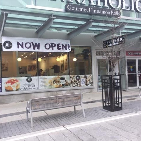 Cinnaholic Ottawa - The Glebe - 900 EXHIBITION WAY, UNIT 102OTTAWA, ON K1S 5J3(613) 563-2867